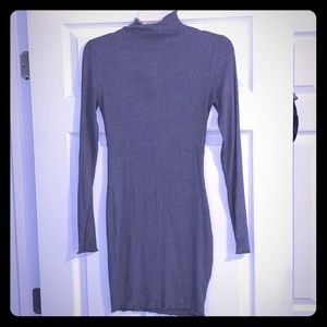 Grey Sweater Dress.